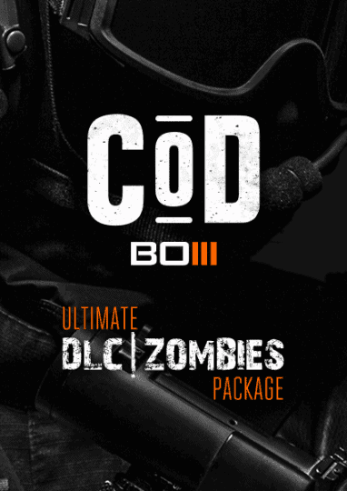COD BO3 ultimate DLC and Zombies package