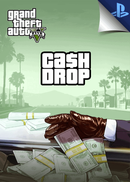 GTA V PS4 cash drop