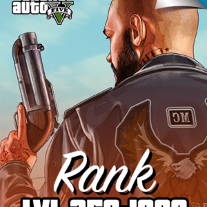 GTA V rank level 250 to 1000