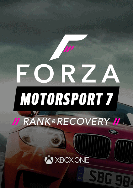 Forza Motorsport 7 rank and recovery