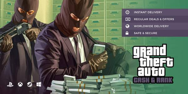 GTA cash and rank