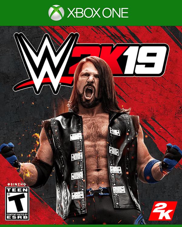 WWE 2K19 Xbox One VC