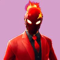 Fortnite Inferno skin