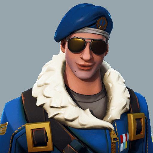 Fortnite Royale Bomber skin