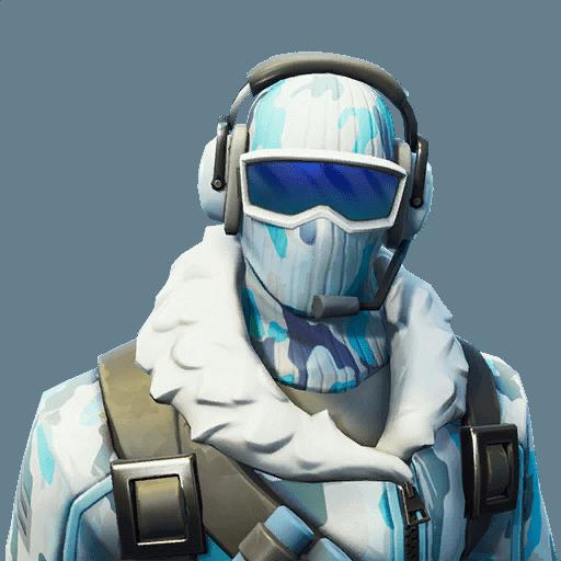 Fortnite Deep Freeze outfit