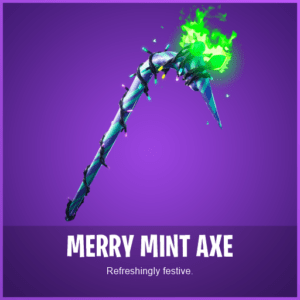 Fortnite Merry Minty pickaxe