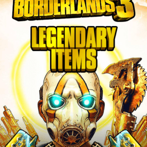 Borderlands 3 legendary items and weapons for PS4