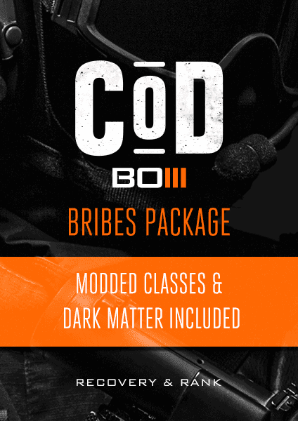 COD: BO3 Bribes Rank & Recovery pack for PS4