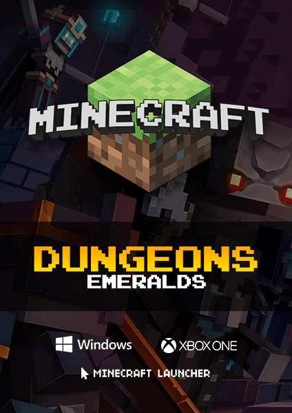 Minecraft Dungeons Emeralds