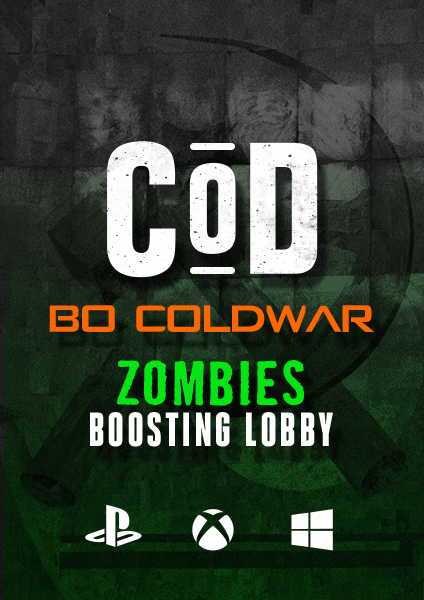 COD Black Ops Cold War Zombies Boosting Lobby