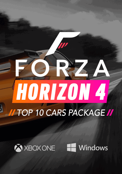 Forza Horizon 4 Top 10 Cars Package