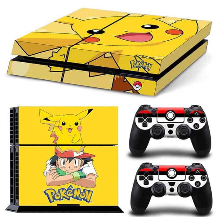 Pokemon PS4 skin
