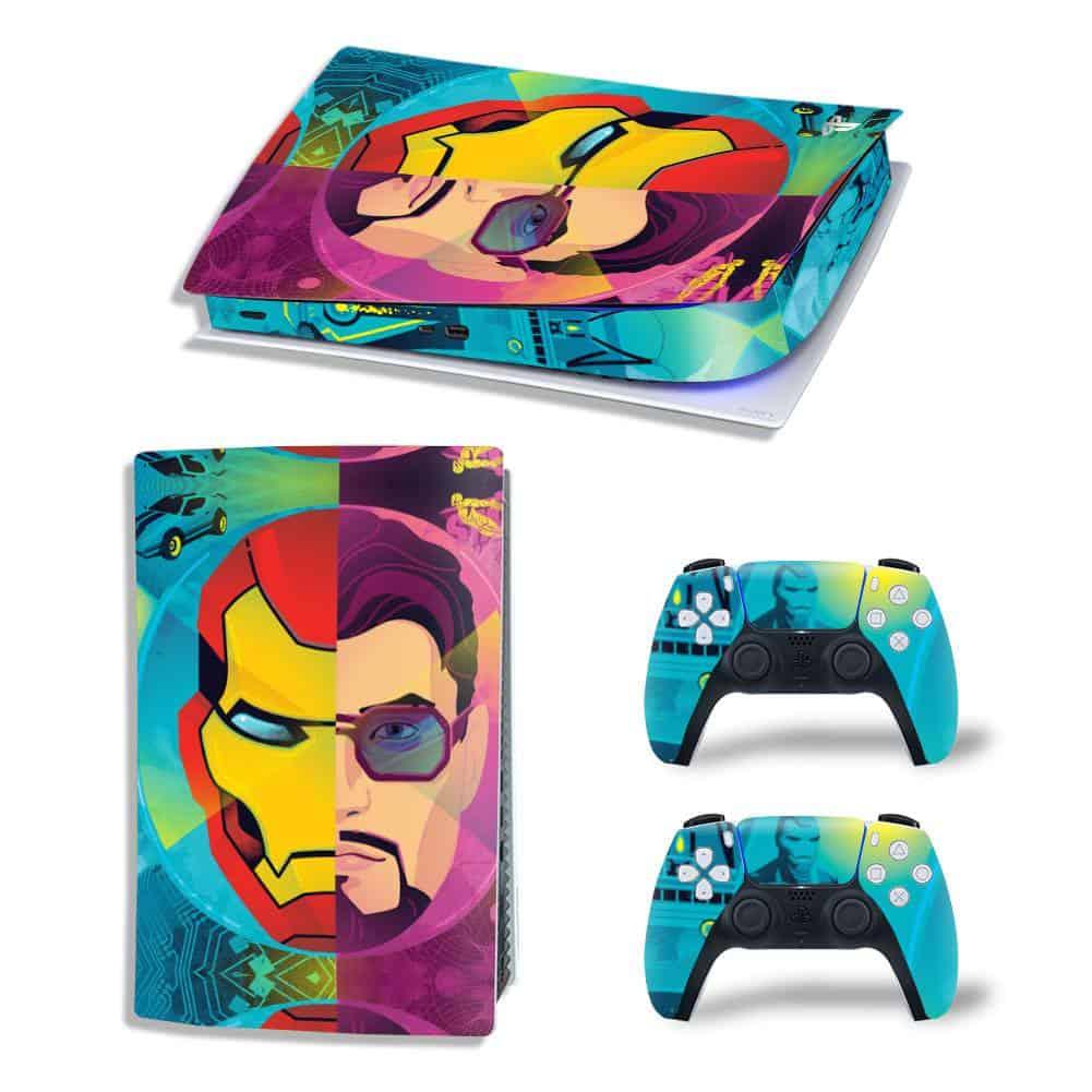 Iron Man & Tony Stark PS5 skin