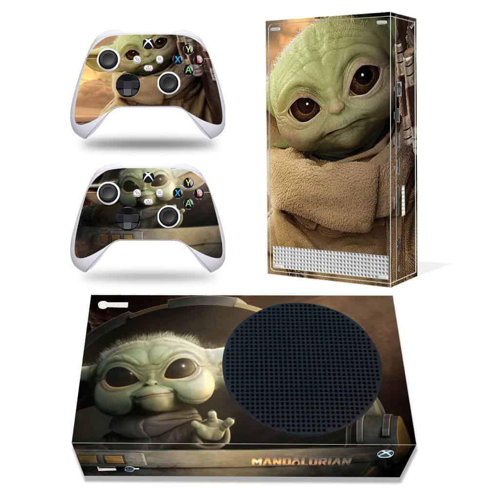 Baby Yoda Xbox Series S skin