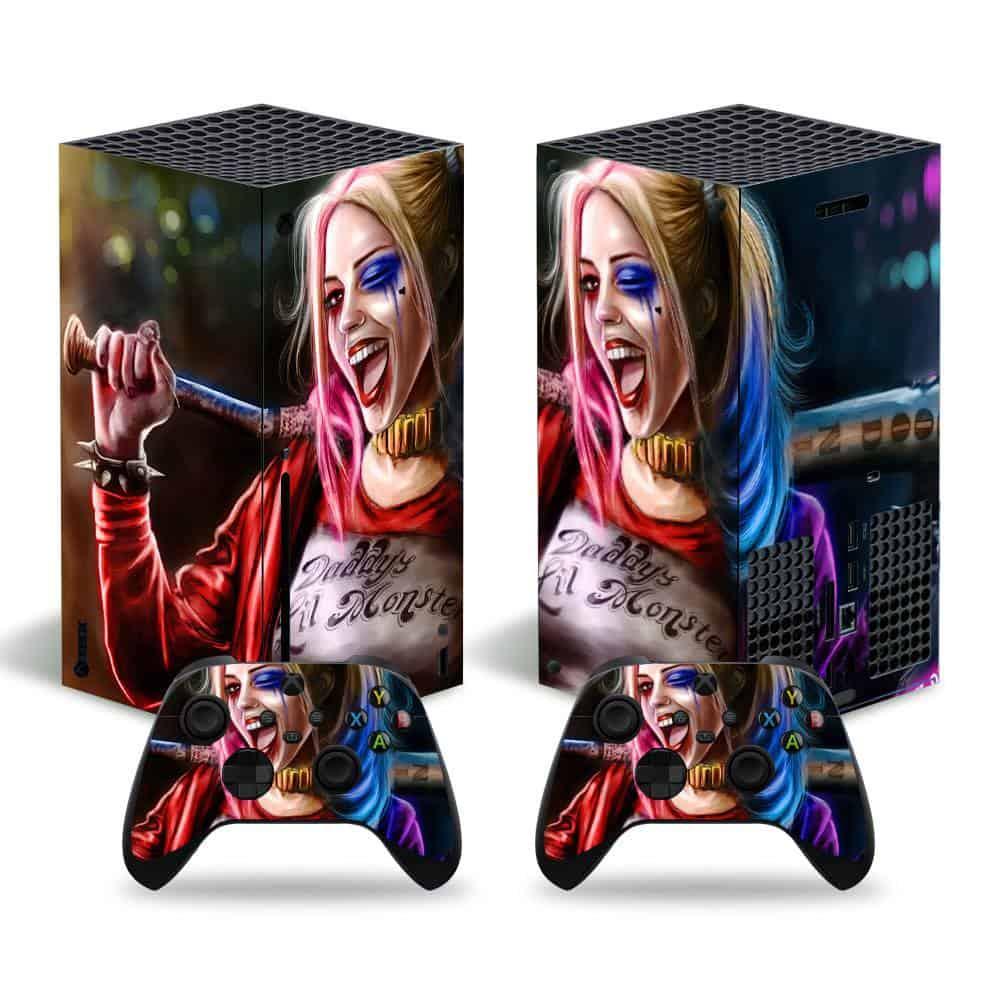 Harley Quinn Xbox Series X skin