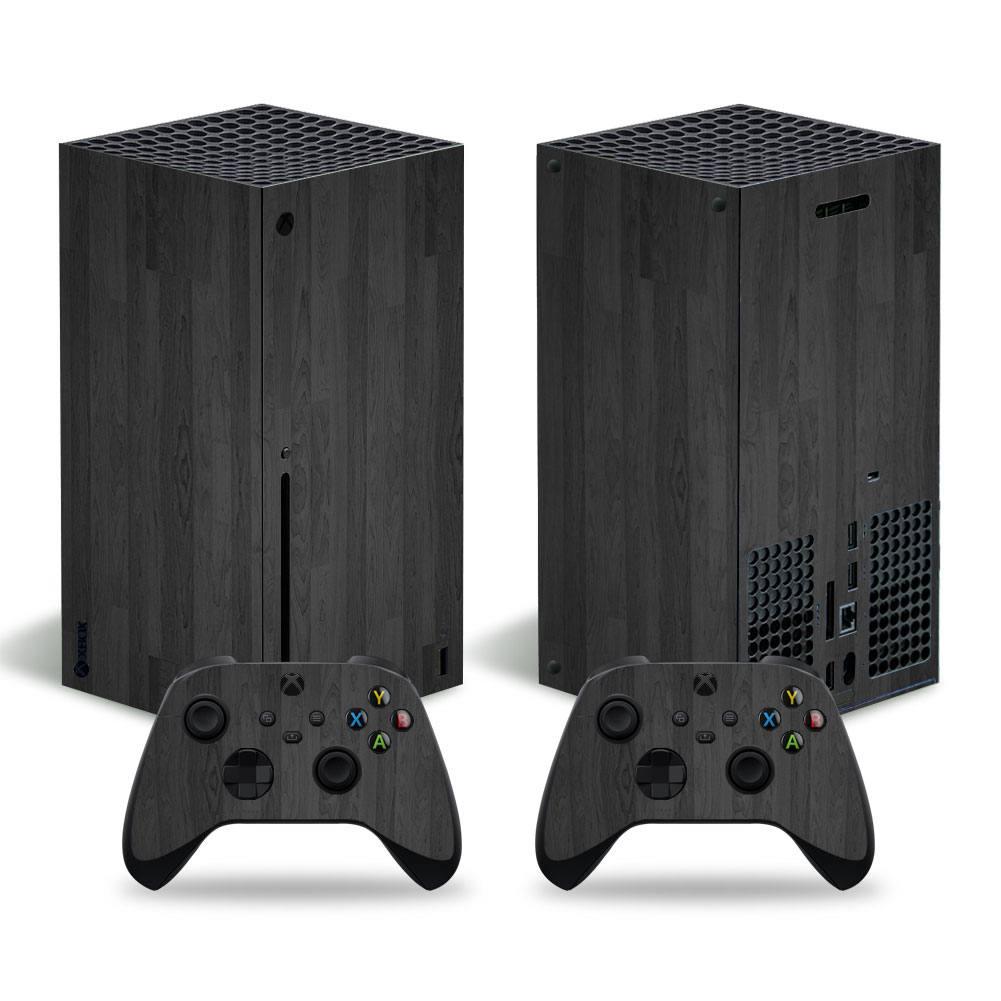 Grey wood Xbox Series X skin