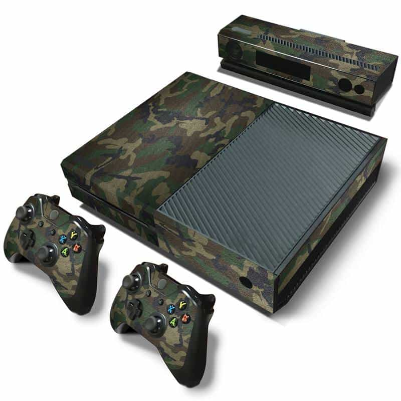 Camouflage Xbox One skin