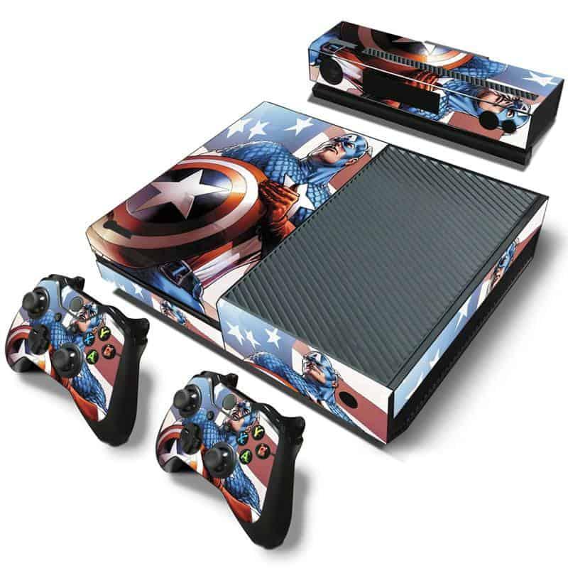 Captain America Xbox One skin