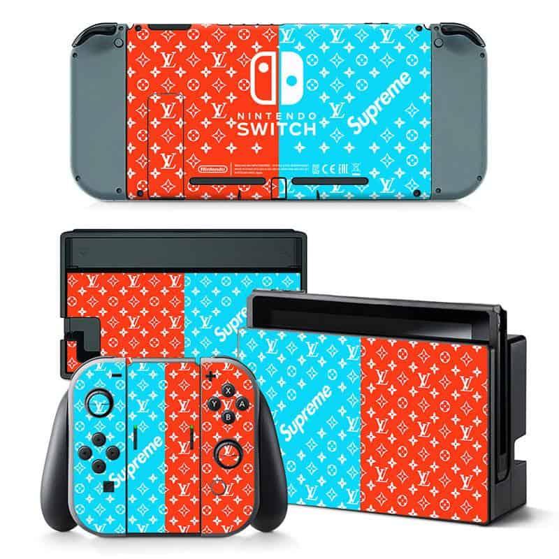 Supreme Nintendo Switch skin