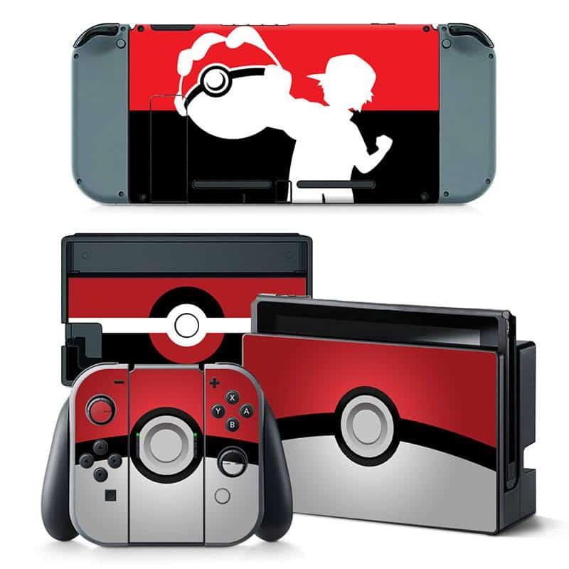 Pokemon Nintendo Switch skin