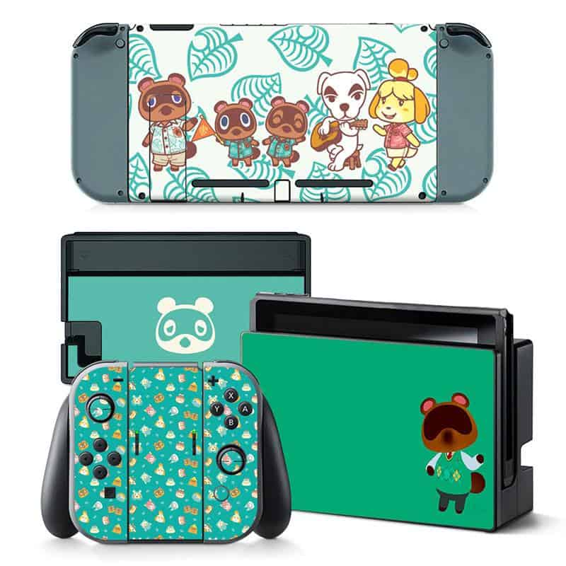 Animal Crossing Nintendo Switch skin